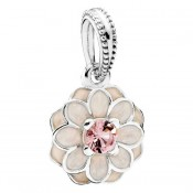 PANDORA Blooming Dahlia Dangle Charms