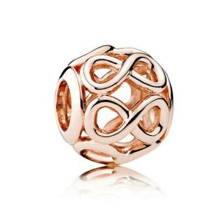 PANDORA Rose Dourado para engraxar os Infinito Charms