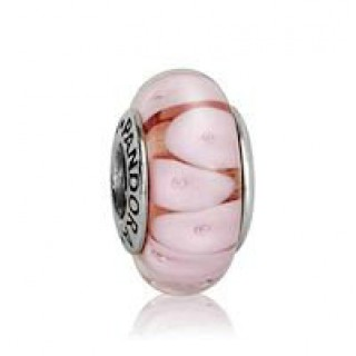 PANDORA Rose Looking Glass Charms Contas