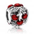 PANDORA cerejas doces Vermelho Charms