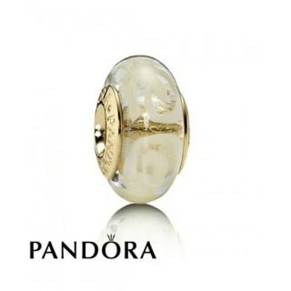 Pandora 14 Ct Charms Branco Espiral