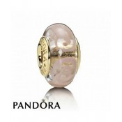 Pandora 14 Ct Charms Rosa Espiral