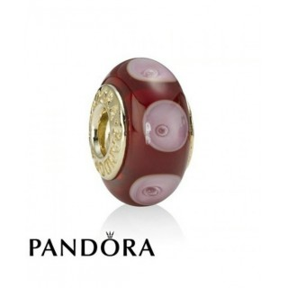 Pandora 14 Ct Charms Vermelho místicos