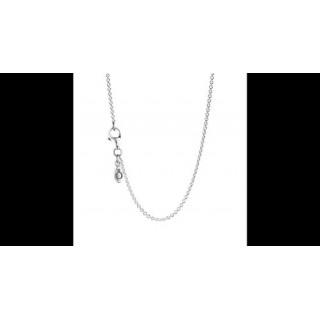 Pandora 90 centímetros Prata Collier Pendant Colares
