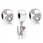 Pandora All You Need Is Love Charms Set