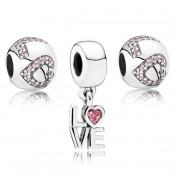 Pandora All You Need Is Love Charms Set