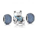 Pandora Azul para um menino Charms Set