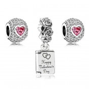 Pandora Captivated Valentines Charms Set