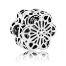 Pandora Floral Daisy Lace grampo Charms