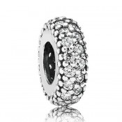 Pandora Limpar Pave Spacer Charms