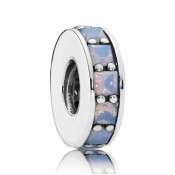 Pandora Prata Opalescent Eternity Spacer Charms