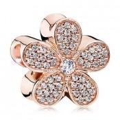 Pandora Rosa Dourado Dazzling Daisy Charms