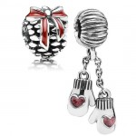 Pandora Seu bebê de Cold Outside Charms Set