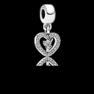 Pandora da Disney Amor Tinker Bell Charms