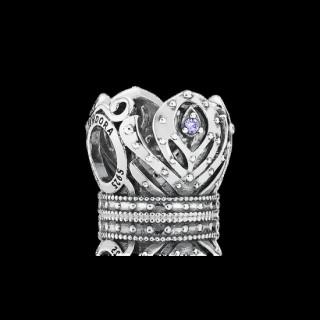 Pandora da Disney Anna da Coroa Charms