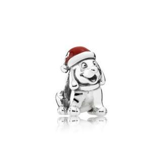 Pandora do filhote de cachorro de Natal Charms