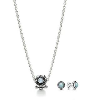 Pandora março Birthstone Gift Set