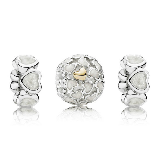 Pandora Abundância Of Love Charms Set