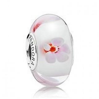 PANDORA Cherry Blossom Charms Contas