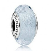 PANDORA Frosty Mint Shimmer Charms Contas