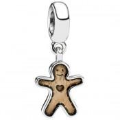 PANDORA Gingerbread Man Dangle Charms