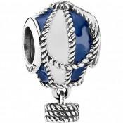 PANDORA Hot Air Balloon Azul Charms