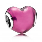 PANDORA In My Heart Vermelho Charms