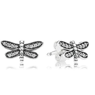 PANDORA Petite Dragonfly, Stud Brincos