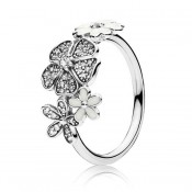PANDORA Shimmering Bouquet Aneis