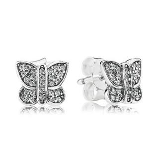 PANDORA Sparkling borboleta Stud Brincos