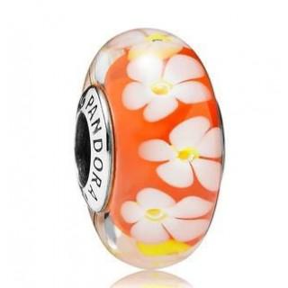 PANDORA Tropical Flor Charme Contas