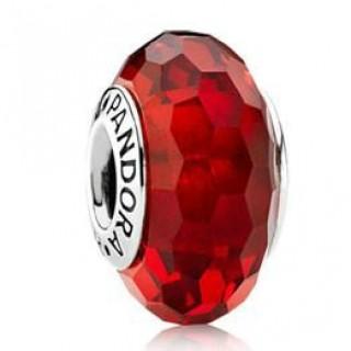 PANDORA Vermelho fascinante Charms Contas