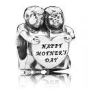 """PANDORA de nós Charms """"O dia de mãe feliz"""""""