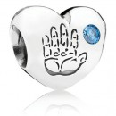 PANDORA do bebé Charms q7
