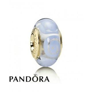 Pandora 14 Ct Charms Azul Espiral