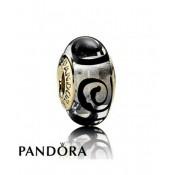 Pandora 14 Ct Preto Espiral Charms