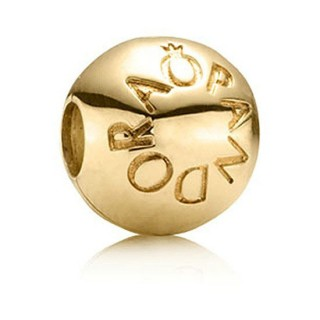 Pandora 14kt Dourado Amar Charms Contas