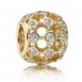 Pandora 14kt Dourado Nos Spotlight Charms