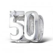 Pandora 50º aniversário ou do aniversário Charms de Contas