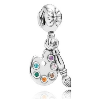 Pandora Artist Palette pendente do encanto