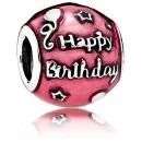 Pandora Birthday Celebration Vermelho Charms