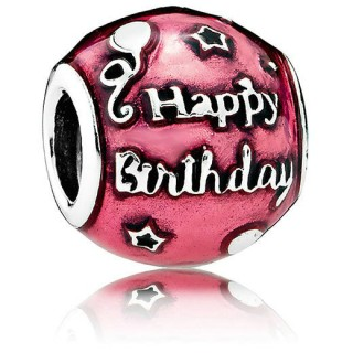 Pandora Birthday Celebration Vermelho Charms