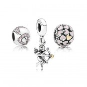 Pandora Cupid Arrow Set Charms