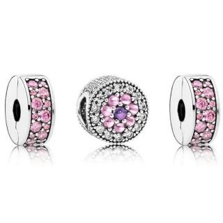 Pandora Dazzling Floral Charms Set