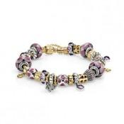 Pandora Encantadora No Lilac Inspiração Pulseira