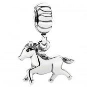 Pandora Espírito Livre / cavalo Dangle Charms