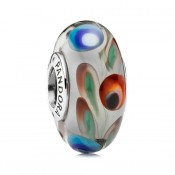 Pandora Folclore de vidro de Murano Charms
