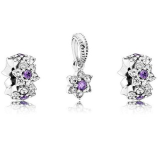 Pandora Forget Me Not Charms Set