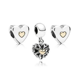 Pandora Luxe Amor Charms Set
