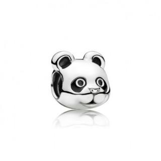 Pandora Panda de Com Preto Esmalte Charms